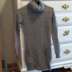 Venus grey turtleneck sweater